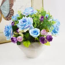 decorative flower arrangements adorable beautiful artificial silk