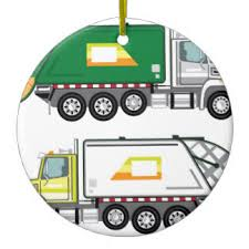 dump truck ornaments keepsake ornaments zazzle