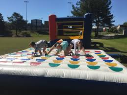 rent giant inflatable twister game