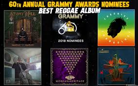 best photo album grammy nominees 2018 best reggae album