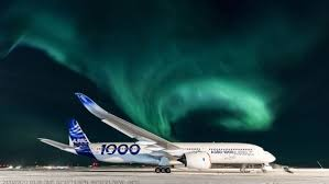 Northern Lights Avionics Airbus A350 1000 Completes Extreme Cold Weather Tests In Canada