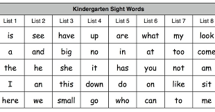 kindergarten sight word sentences worksheets u0026 2nd grade sight