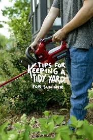 Gardening Tips For Summer - 5 tips for a tidy yard this summer fresh exchange