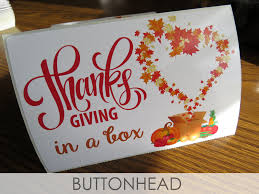 thanksgiving in a box buttonhead