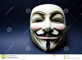 Guy Fawkes Mask Halloween by Anonymous Selfie Editorial Photography Image 43521417