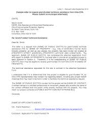 sample cover letter for grant application guamreview com
