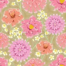 flower wrapping paper floral seamless pattern flowers bright colors