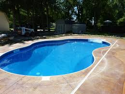 Cover Concrete With Pavers by Auto Covers Custom Inground Swimming Pool Builder