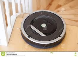 Vacuum For Wood Floor Robotic Vacuum Cleaner On Laminate Wood Floor Smart Cleaning Tec