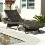 Rustic Chaise Lounge Kauai Outdoor Wicker Pool Chaise Lounge Chair Archives