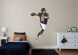 life size mitchell trubisky fathead wall decal shop chicago mitchell trubisky fathead wall decal