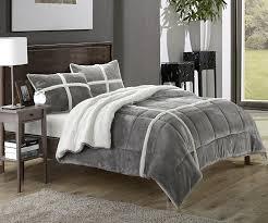 chic home 2 sherpa comforter set x