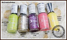 sally hansen hard as nails xtreme wear nail enamel 5 shades