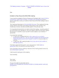 Invitation Card For Conference Sample Meeting Invitation Template Thebridgesummit Co