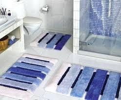 Navy And White Bath Rug Blue Bath Mats Blue Impressive Modern Bathroom Rug Sets Bath Mats