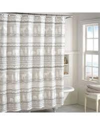 Neutral Shower Curtain Shopping Special Saranac Shower Curtain Neutral