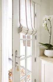 window treatments for doors with glass sally steponkus interiors mudroom door with glass panes covered