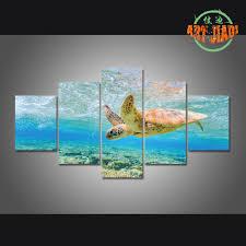 online shop 5 piece set canvas art turtle playground paradise