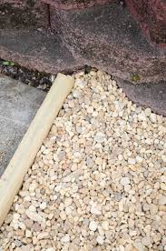 how to create a chic gravel patio the home depot blog