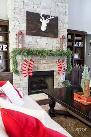 christmas home decor ideas beautiful home tour christmas home decor ideas i went a little rustic and a little white christmas in
