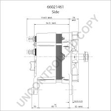66021461 alternator product details prestolite leece neville
