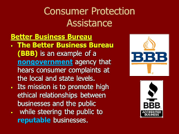 consumer fraud bureau consumer protection and product liability ppt
