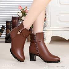 35 best boots high quality genuine leather boots images on plus size 35 42 s shoes 2017 winter s genuine