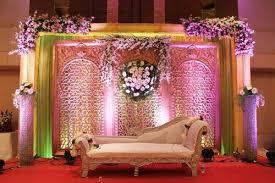 shaadi decorations wedding decoration fiberglass wedding stage exporter from ahmedabad