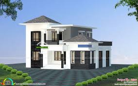 low budget villa all side view kerala home design bloglovin u0027