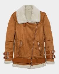 light brown leather jacket womens women suede faux fur moto jacket top celebs jackets