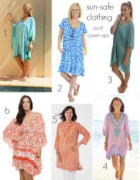 cover up your swimsuit with sun safe clothing