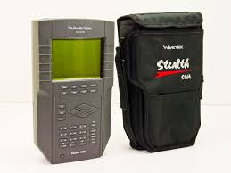 wavetek sam 4040 video cable tv signal analysis meter w case