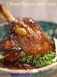 cuisiner une souris d agneau souris d agneau au citron et thym citron macaronette et cie