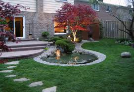 Japanese Garden Idea Japanese Garden Idea For Front Yard With Japanese Pond Furnished