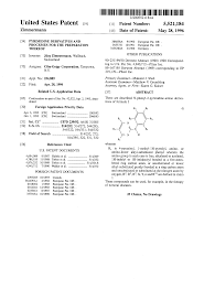 patent us5521184 pyrimidine derivatives and processes for the