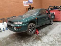 subaru wrx turbo wrecking subaru impreza wrx 1997 gc8 5 speed manual turbo jap