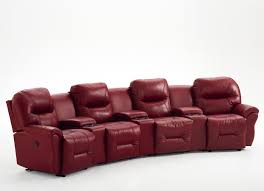home theater seating clearance 4 seater power reclining home theater group by best home