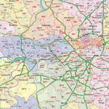 London Maps London Zip Code Map Zip Code Map Interactive London Postcode Map