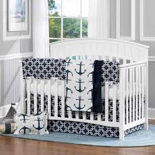 Convertible Crib Bedding Baby Boy Room With Convertible Crib And Nautical Bedding