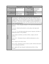 best photos of lesson plan template word daily lesson plan