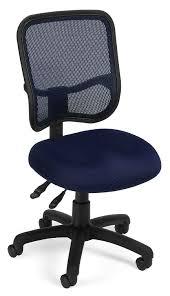 Office Furniture Chairs Amazon Com Ofm Comfort Series Ergonomic Mesh Swivel Armless Task