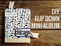 Flip Photo Album Persnickety Prints Diy Flip Down Mini Album U0026 A Giveaway