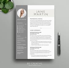 Vintage Resume Template Boutique Resume Template 7 Stylish Modern Creative