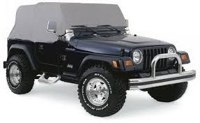jeep wrangler grey amazon com rampage 1161 waterproof cab cover automotive