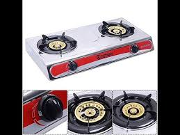 Propane Gas Cooktop Best Safstar Portable Propane Gas Stove Stainless Steel Double