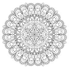 monochrome black and white lace ornament vector royalty free stock