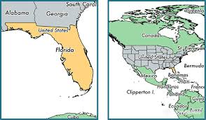 where is florida state where is florida located in the world