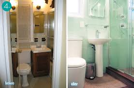 ideas for small bathrooms makeover small bathroom makeovers 10 transformations curbly