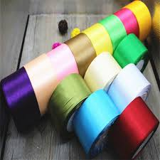 silk satin ribbon 50mm 25 yards silk satin ribbon used for wedding decorative ribbons