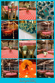 over the top weddings and events backyard bbq engagement party